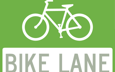 Separate bike lanes on Willemar Ave