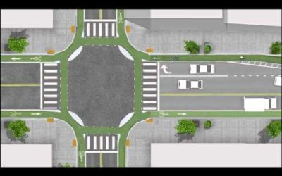 Junction Design the Dutch (cycle friendly) Way
